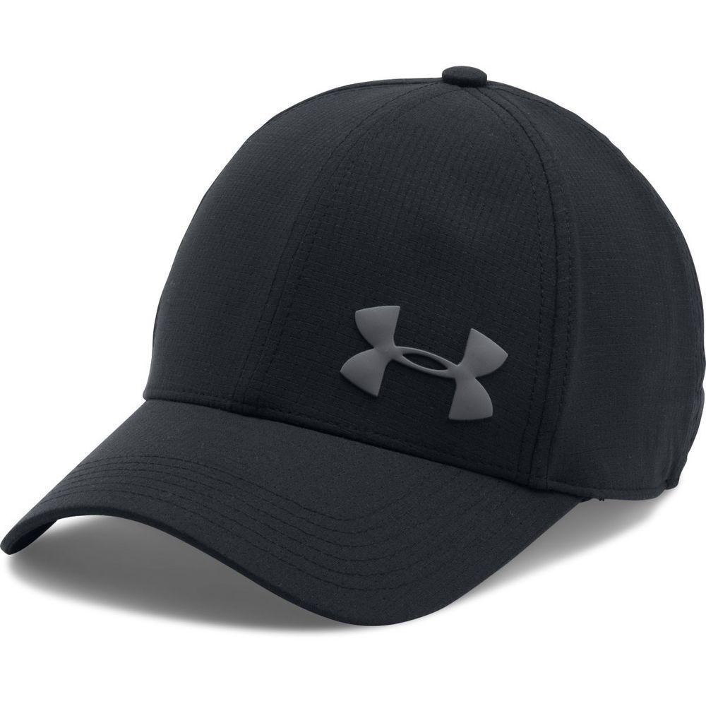 UNDER ARMOUR Men/'s Blitzing II Stretch Classic Fit Cap//Hat Size M//L Black NEW