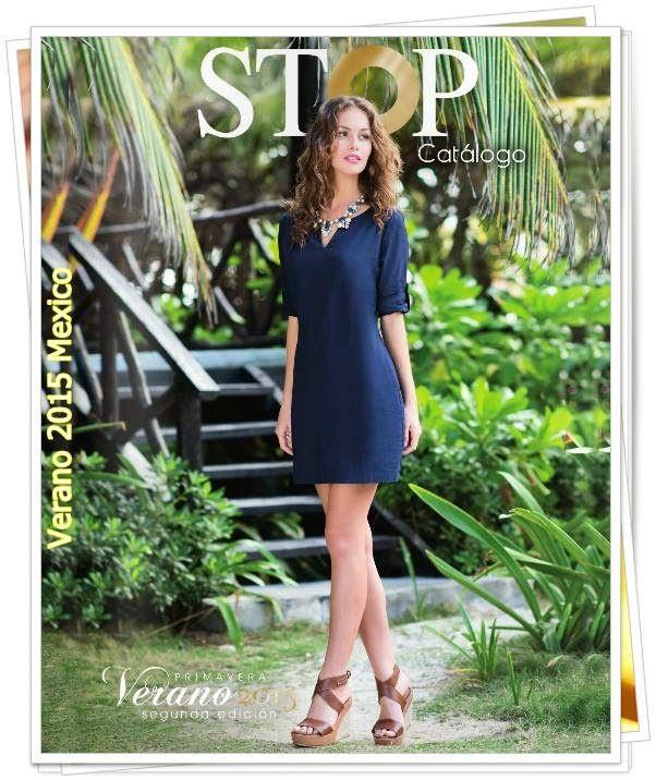 Catalogo Stop Verano 2015, imagenes de ropa y calzado