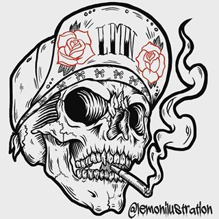 Cool Stylish Skull Drawing Art Drawing Ideas In 2019