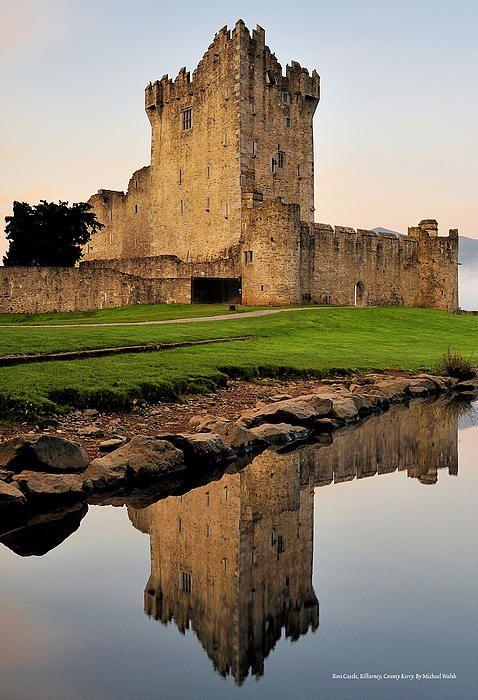 Ross Castle, County Kerry, Ireland