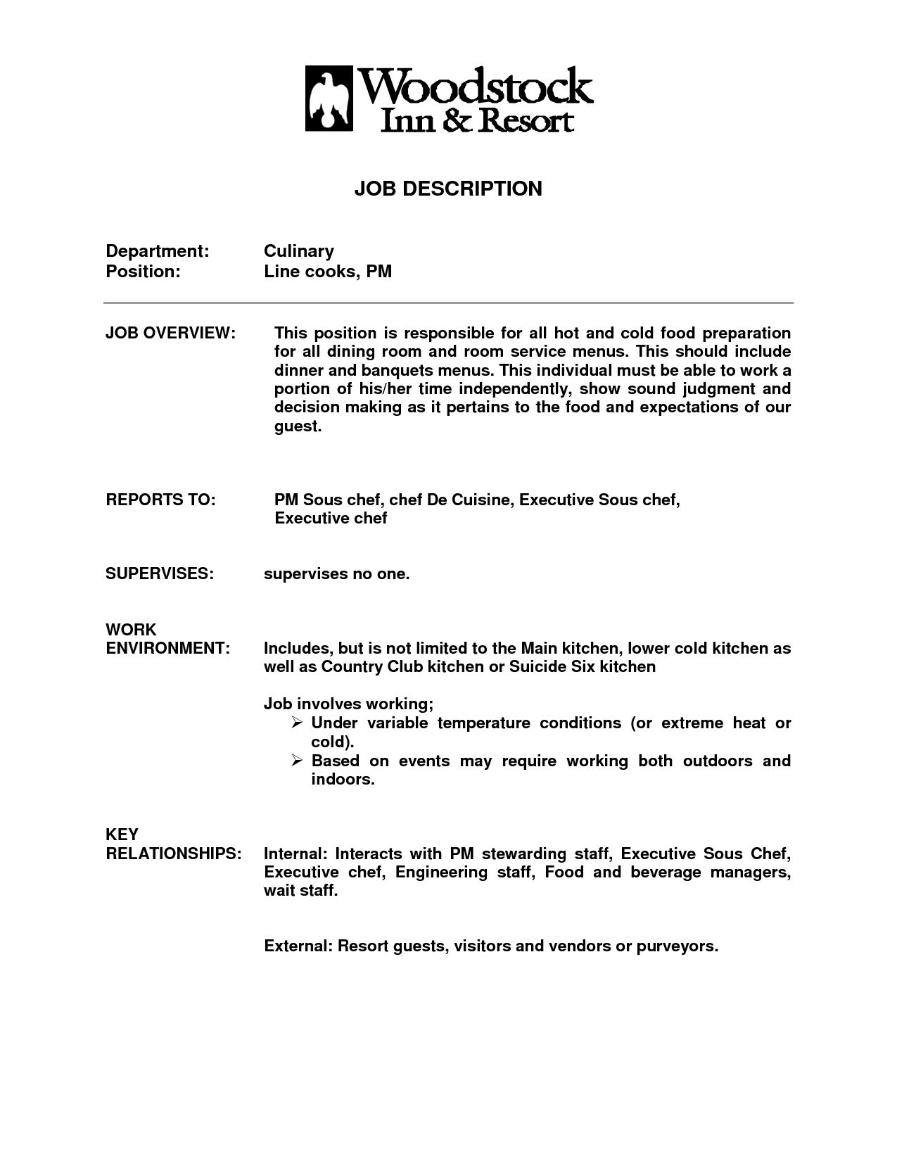 Culinary Resume Builder Free Templates Coaching Template Entry