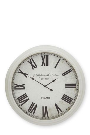 Buy Cream Extra Large Clock from the Next UK online shop Dream