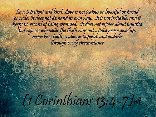 Fullness of Joy Scripture | Corinthians 13:4-7 | A Joyous Rejoicing