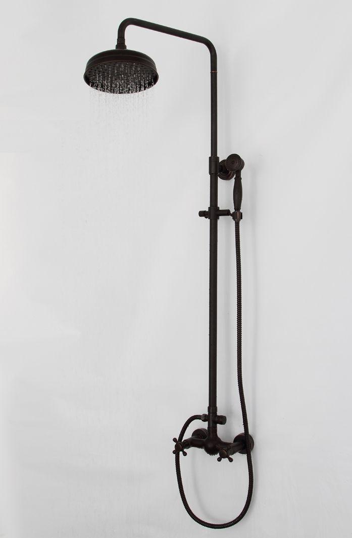 Robinet Bain Shower Heads Oil Rubbed Bronze Bathroom Shower Set