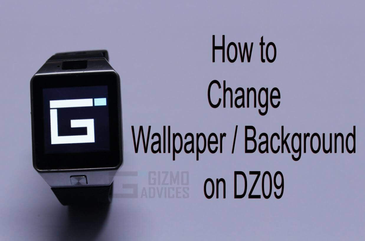 494a086df2f How to Change Wallpaper on DZ09 Smartwatch Phone