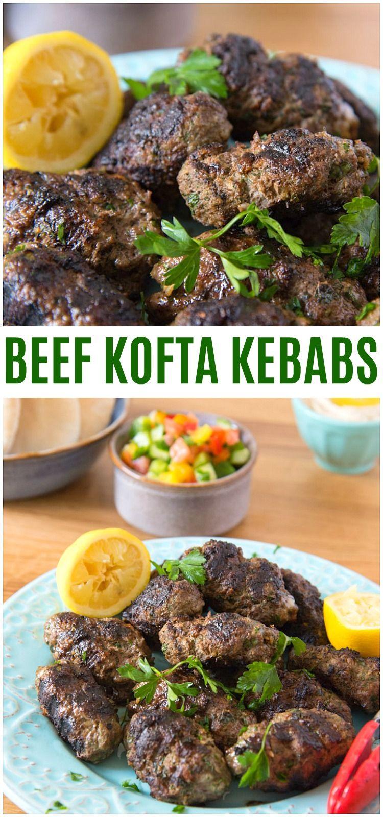 Beef Kofta Recipe Mediterranean Ground Beef Kabob Recipe Via Knowyourproduce Paleo Beef Appetizer Beef Kofta Recipe Kofta Recipe Ground Beef Kabob Recipe