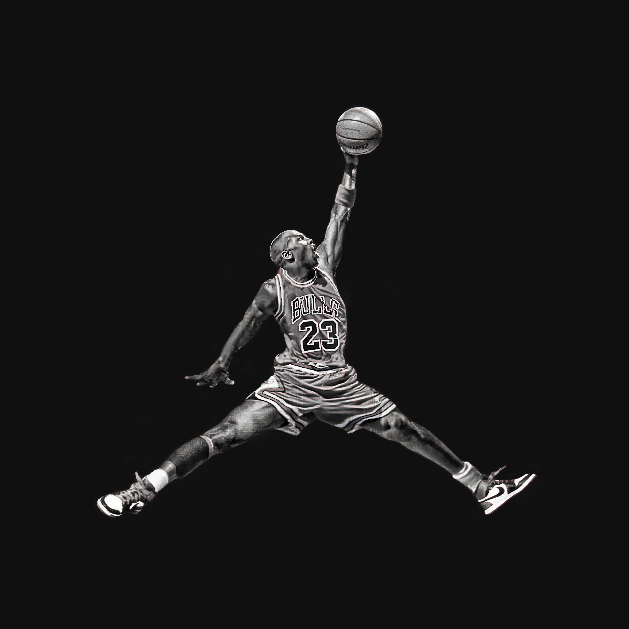 """Michael Jordan's iconic """"Jumpman"""" logo in real life"""