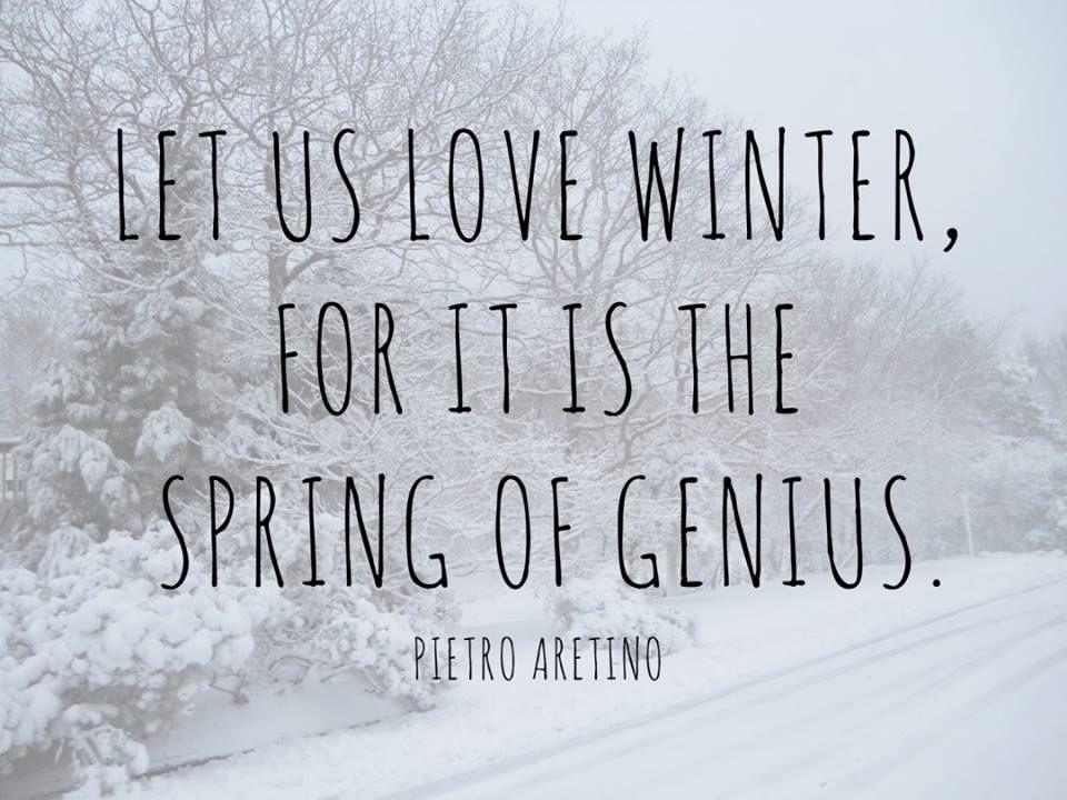 Beau Let Us Love Winter.