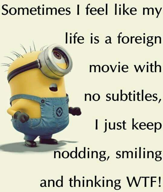 Minion Quotes Wtf: Top 40 Funniest Minions Memes #pics