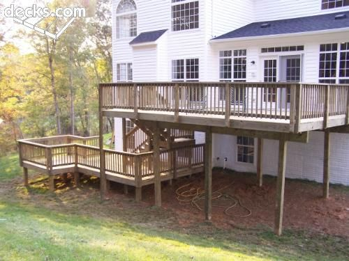 Multi Level Decks Multi Level Deck Picture Gallery Multi Level Deck Building A Deck Decks Backyard