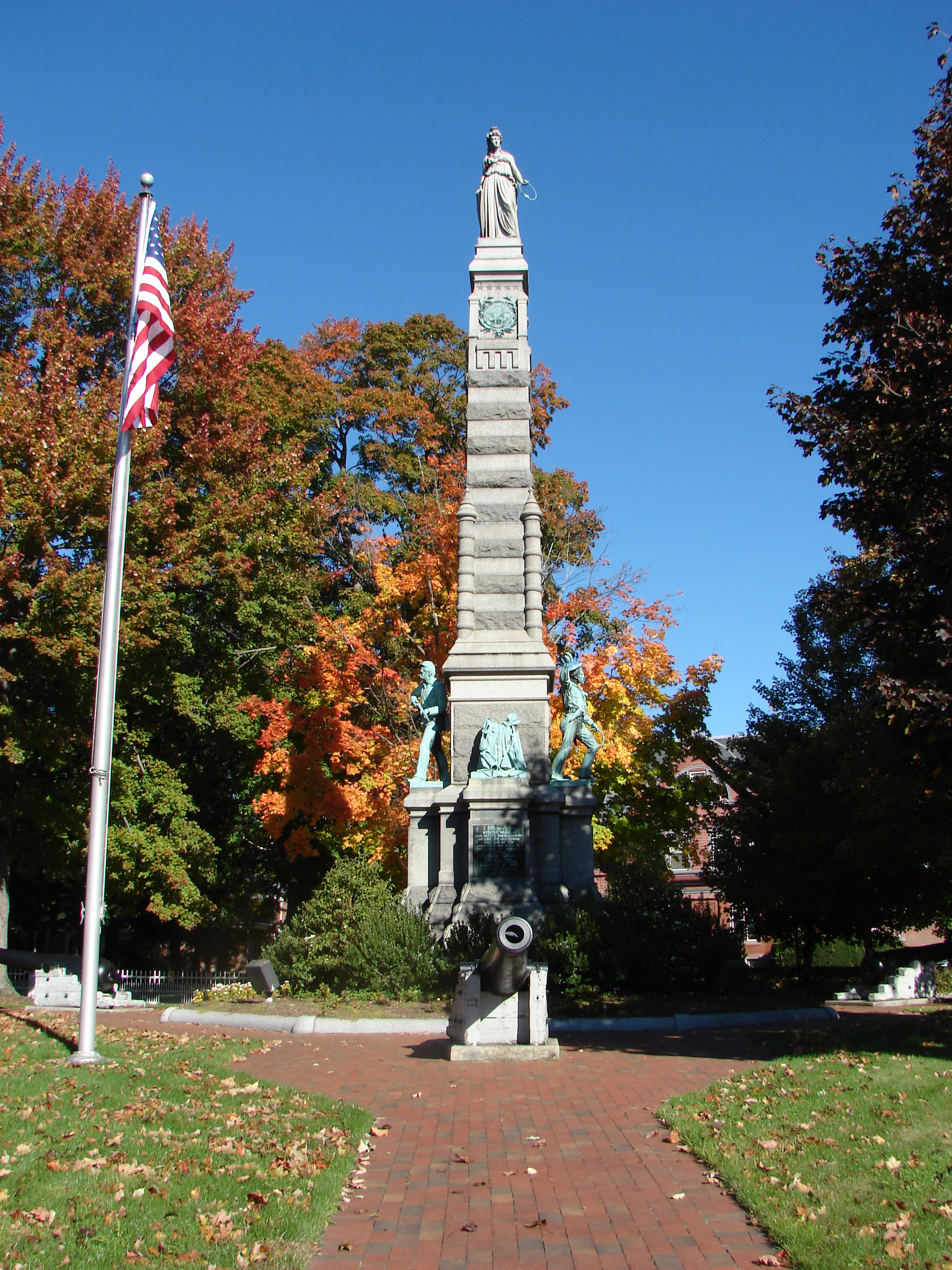 Town Square Nashua Nh Downtown New Hampshire New