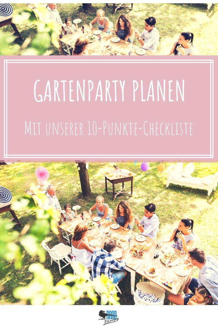 Photo of Planning a garden party: This checklist will make your summer party a success