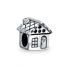 Bling Jewelry Family House Sterling Silver Bead Fits Pandora Chamilia Charms