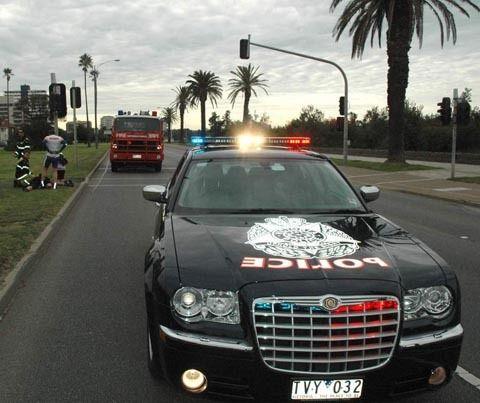 Victorian Police Australia Chrysler 300c Vehicles Cars Victoria