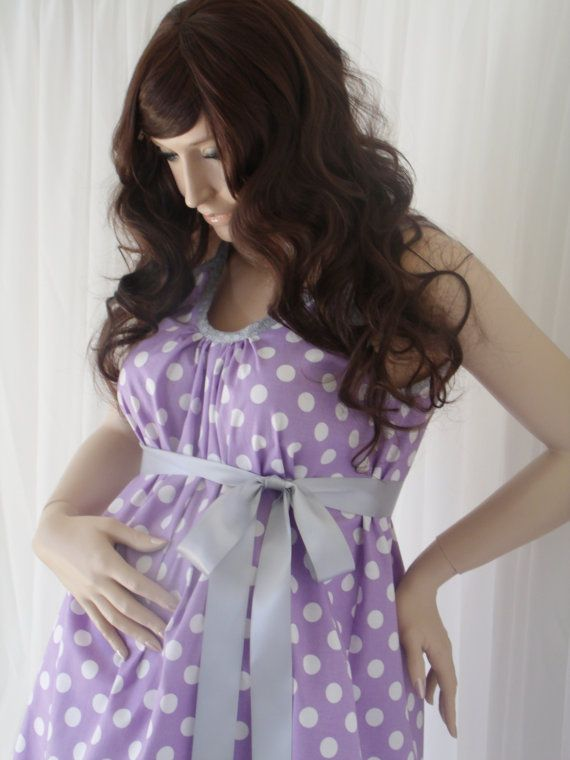 Maternity/hospital gown from etsy! Something to look cute in ...