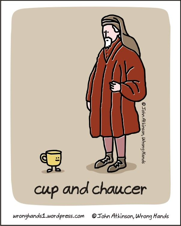 chaucer humour