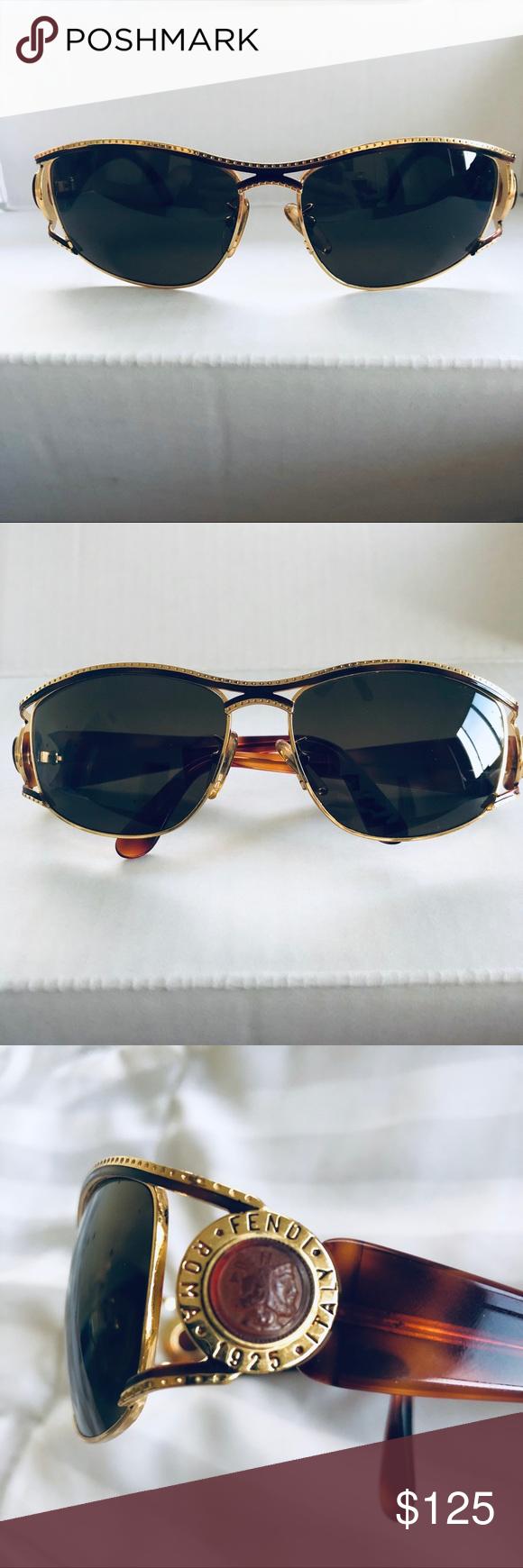 cfaf4a7eecb Fendi vintage sunglasses beautiful brown and gold vintage fendi sunglasses  like new but png 580x1740 Accessories