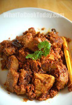 Pork Rendang Cooking Recipes Pork Recipes Savory Meats