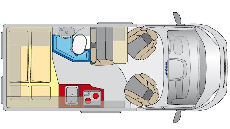 Super Plan petit fourgon 5,41 m Plus | Projet vito | Pinterest | Fourgon  UI49