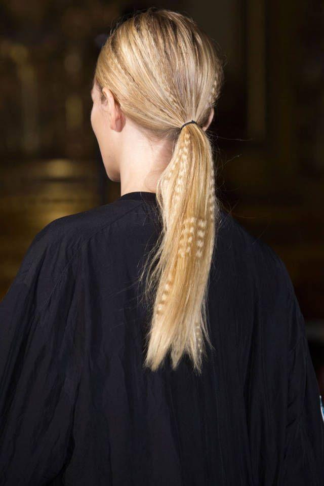 The Best Hair Trends For Spring 2015 Runway Hair Trends Catwalk Hair Runway Hair