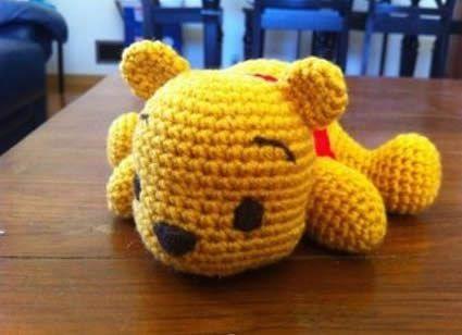 osito pooh | amigurumi | Pinterest | Oso pooh, Osos y Winnie de pooh