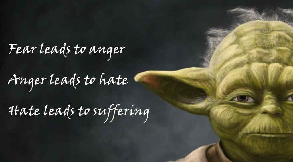 Related Image Control Your Anger Quotes Yoda Quotes Anger Quotes