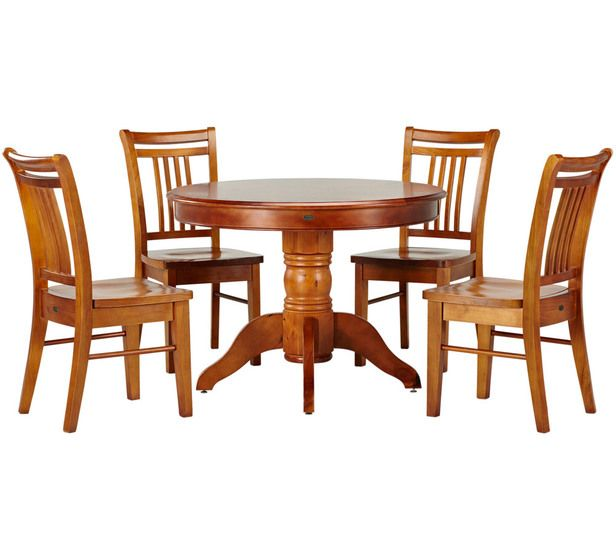 Balmoral 5 Piece Dining Set Not Sure On The Round Table Though Fantastic Furniture Dining Table Furniture