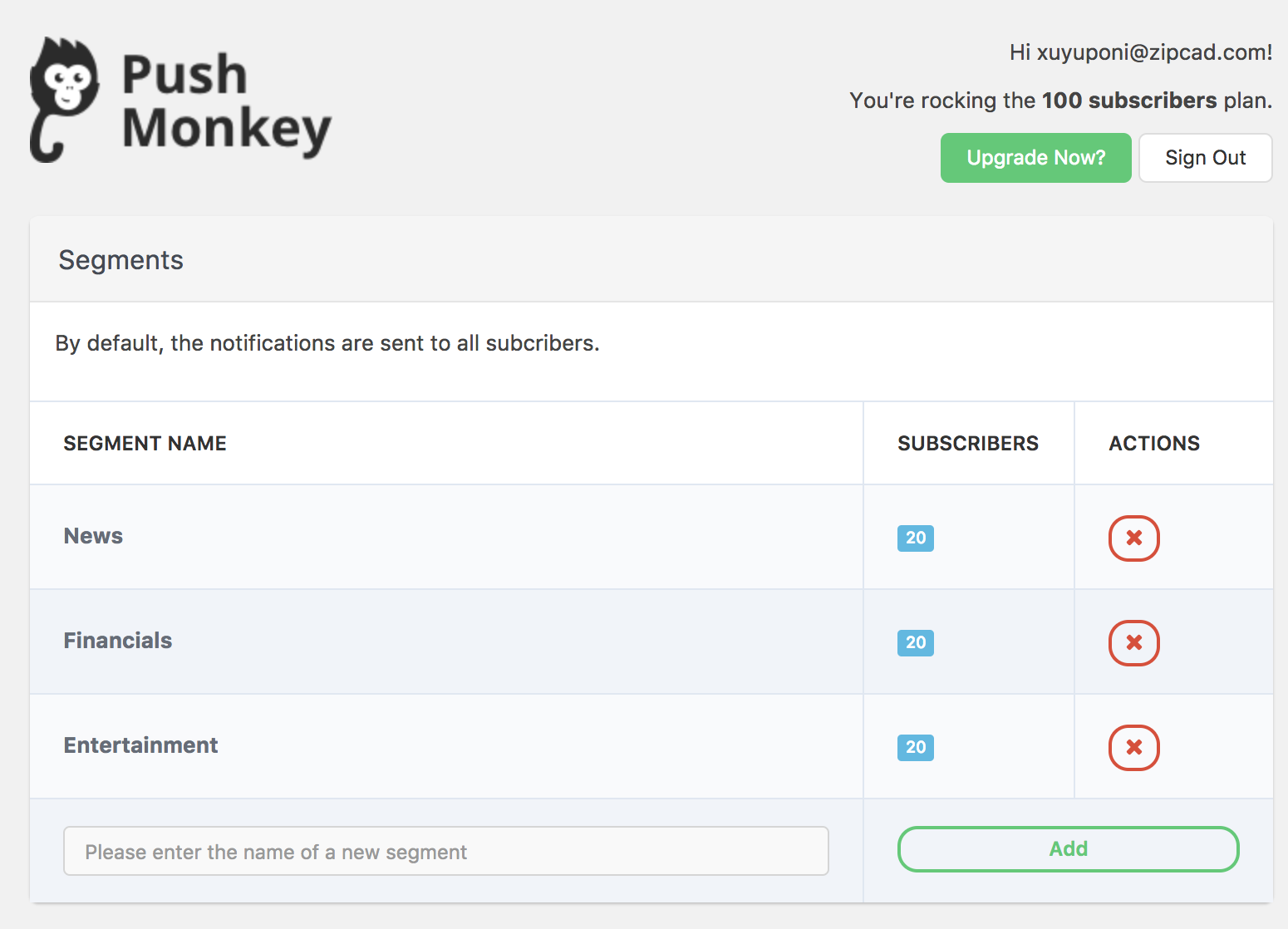 Get Push Monkey - Native Desktop and Mobile Push Notifications for WordPress   Push notifications, Push, How to plan