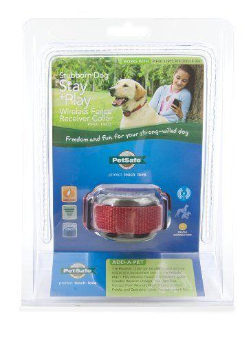 Petsafe Stay N Play Stubborn Dog Wireless Receiver Petsafe Http Www Amazon Com Dp B00an64igi Ref Cm Sw R Pi Dp Dwfstb0b Wireless Dog Fence Dog Fence Stubborn