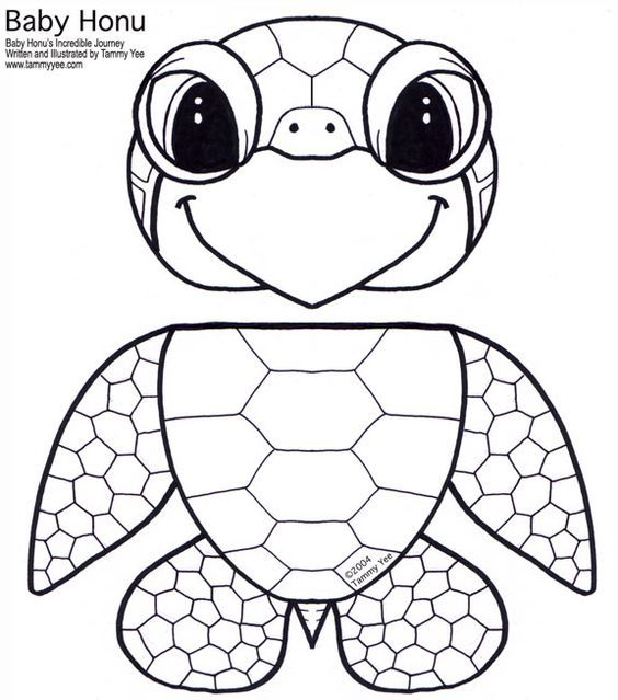 T is for turtle paper bag puppet printable template