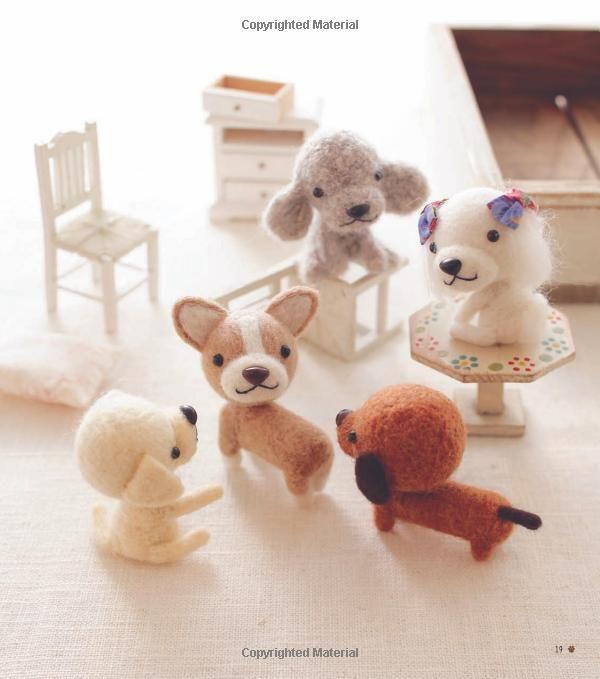 Felt Dogs Amazon Co Uk Mitsuki Hoshi Books