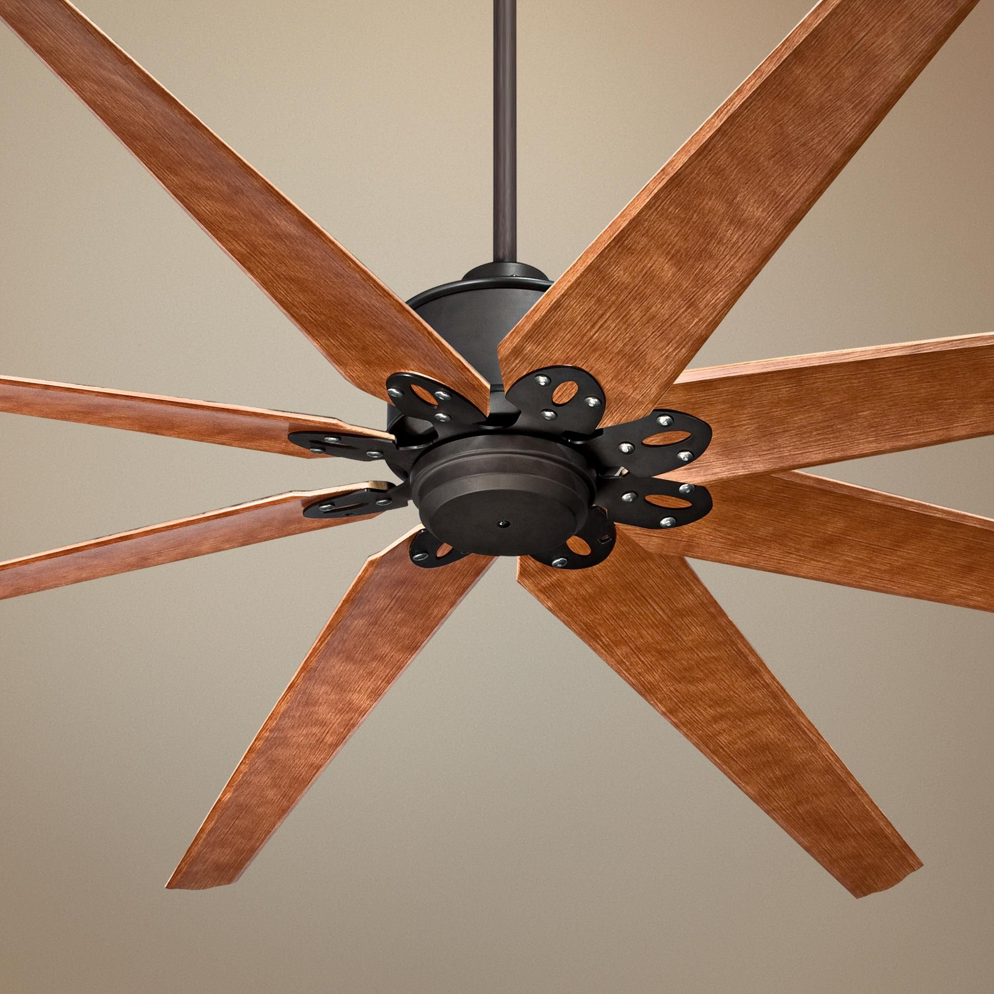 "72"" Predator English Bronze Outdoor Ceiling Fan"