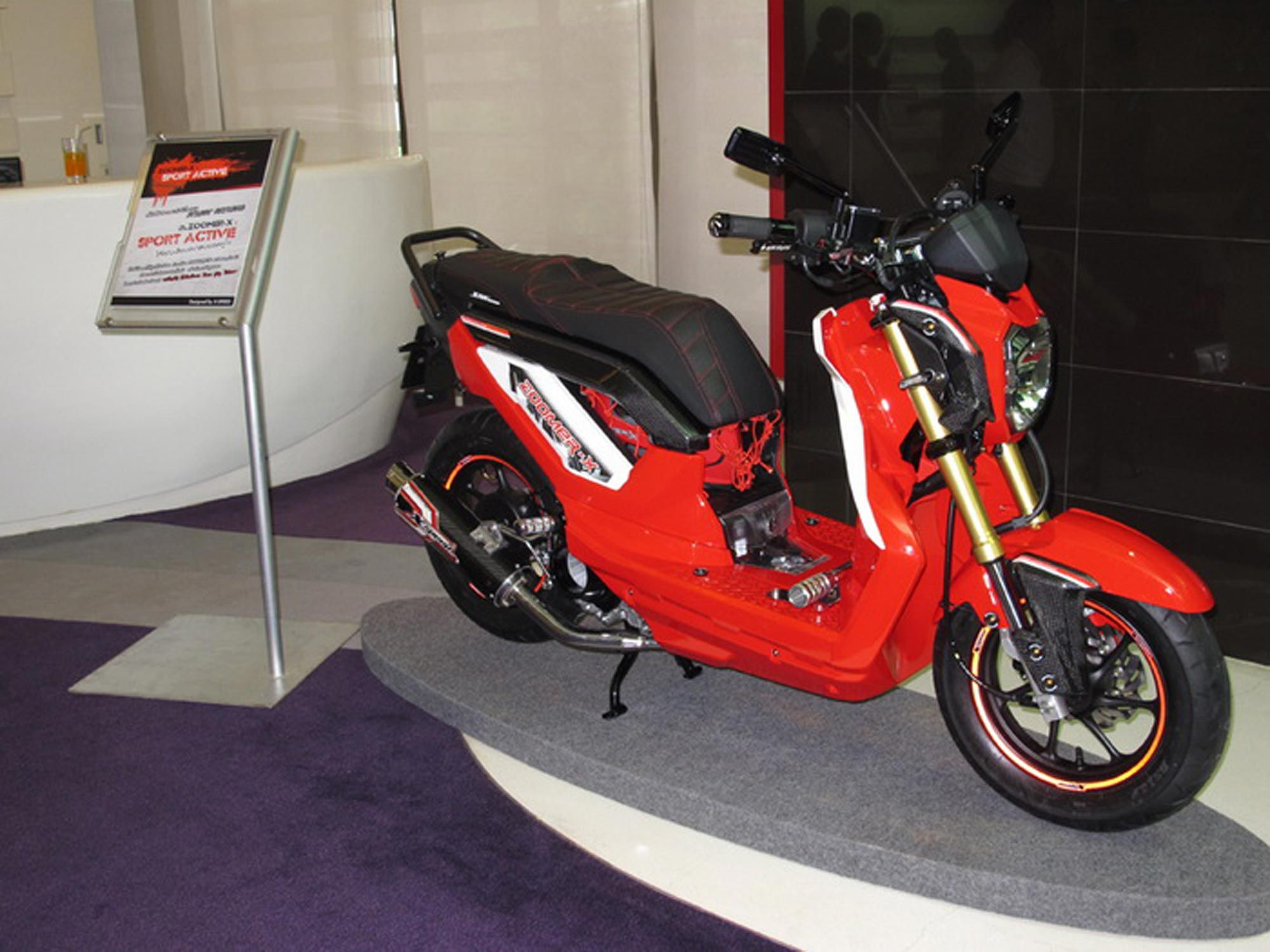 2013 Honda Zoomer X Red Modifications 2013 Honda Honda Honda Motors