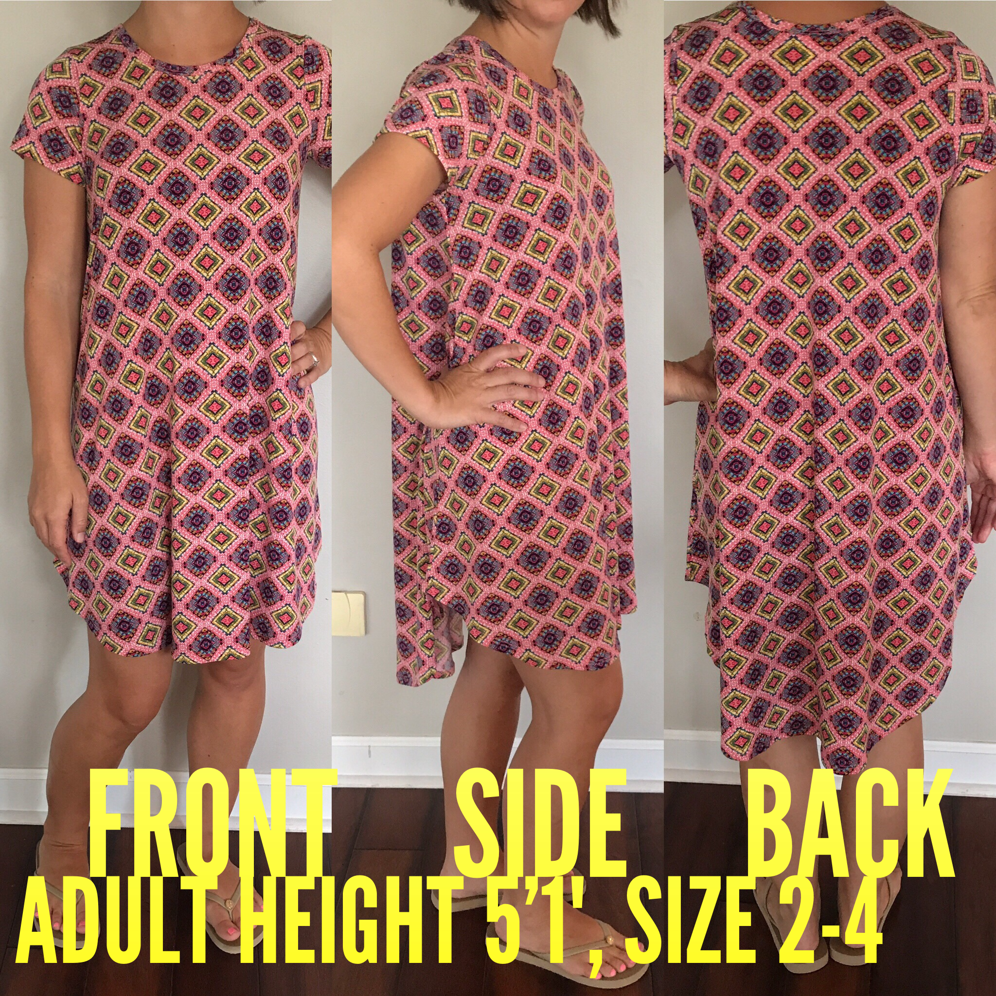 796852c48 The LuLaRoe Scarlett dress in size 12 is perfect for short, petite ladies  Many taller ladies can wear it as a tunic