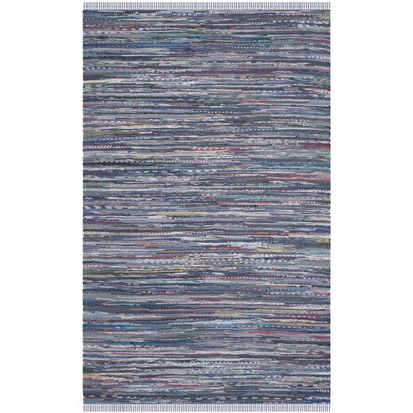 Safavieh Rag Multi Contemporary Area Rug Purple Rugs Handmade Hand Woven