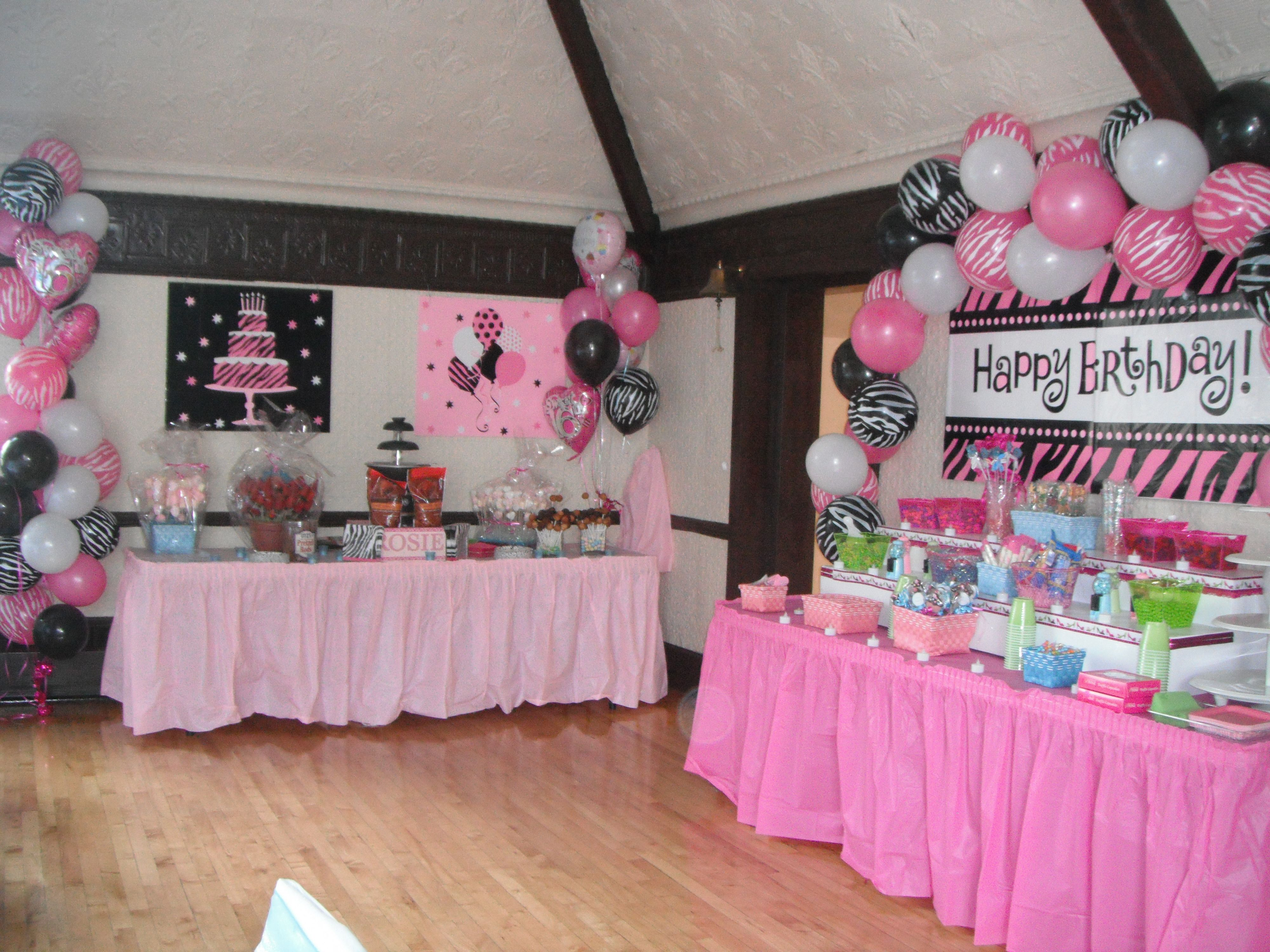 Rosie's Sweet 16 Party Decorations | Party Ideas | Sweet ...