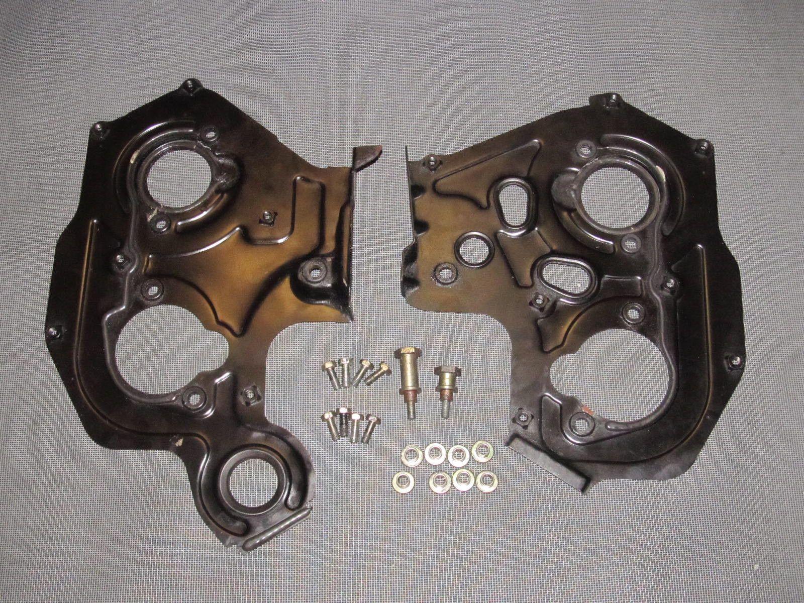 90 91 92 93 94 95 96 Nissan 300zx Oem Timing Belt Rear Cover Set