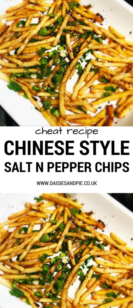 Homemade Salt And Pepper Chips
