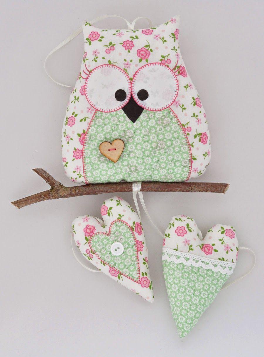 Gliniany garnek: WIOSENNE SOWY | OWLS | Pinterest | Nähen mit ...