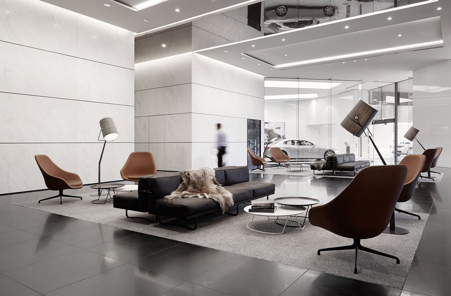 501 Swanson Melbournes Audi And Maserati Dealership By Elenberg Fraser