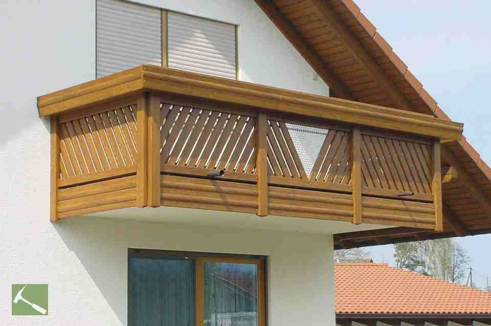 Kunststoff Balkon Wooden Railing Designs For Homes In 2019 | Balcony Railing