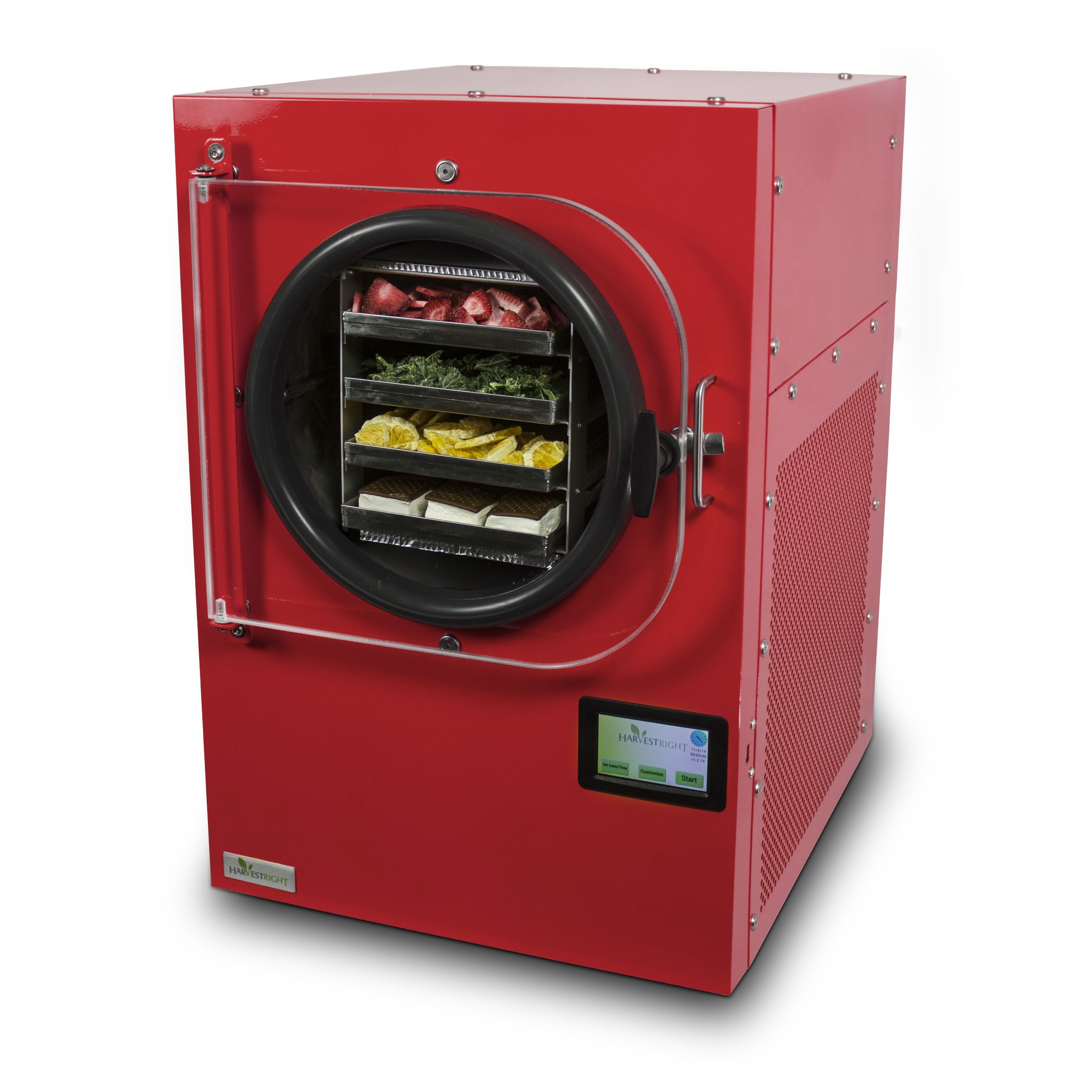 Freeze Dryer Red Freeze Drying Food Freeze Dried Food Storage Harvest Right Freeze Dryer