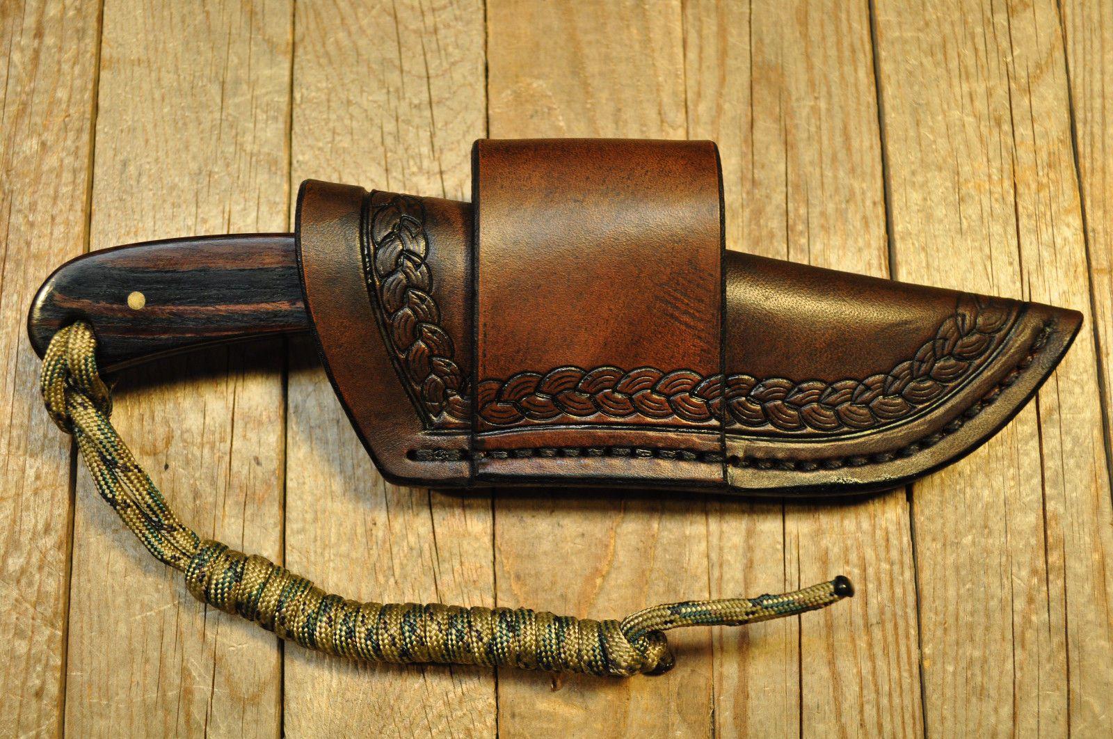 Custom Crossdraw Sheath For Puma Sgb Buck 113 Drop Point Knife