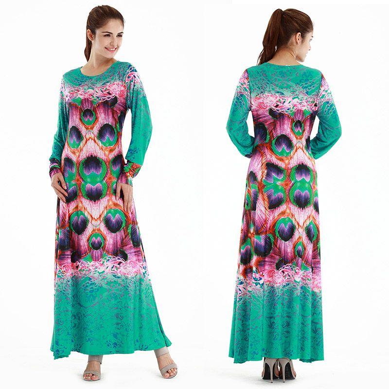 click to buy << 2017 fashion autumn islamic woman dress women
