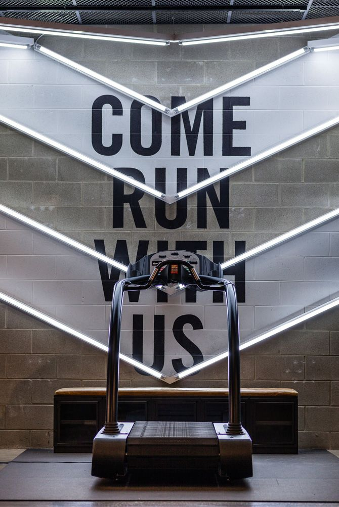 Nike Chicago Jessica Davis With Images Gym Design Fitness