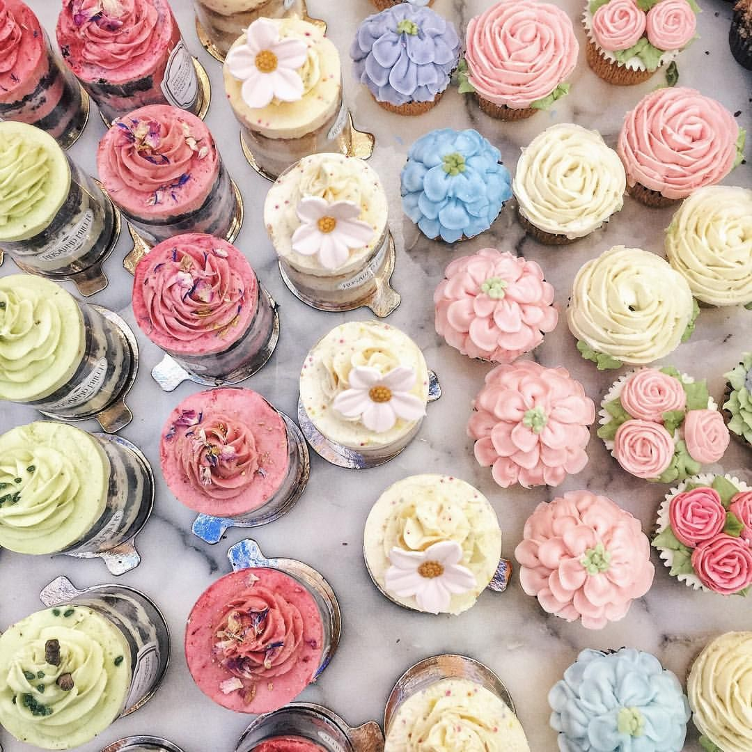 We've got the Dreamer's Disease Wedding cupcakes
