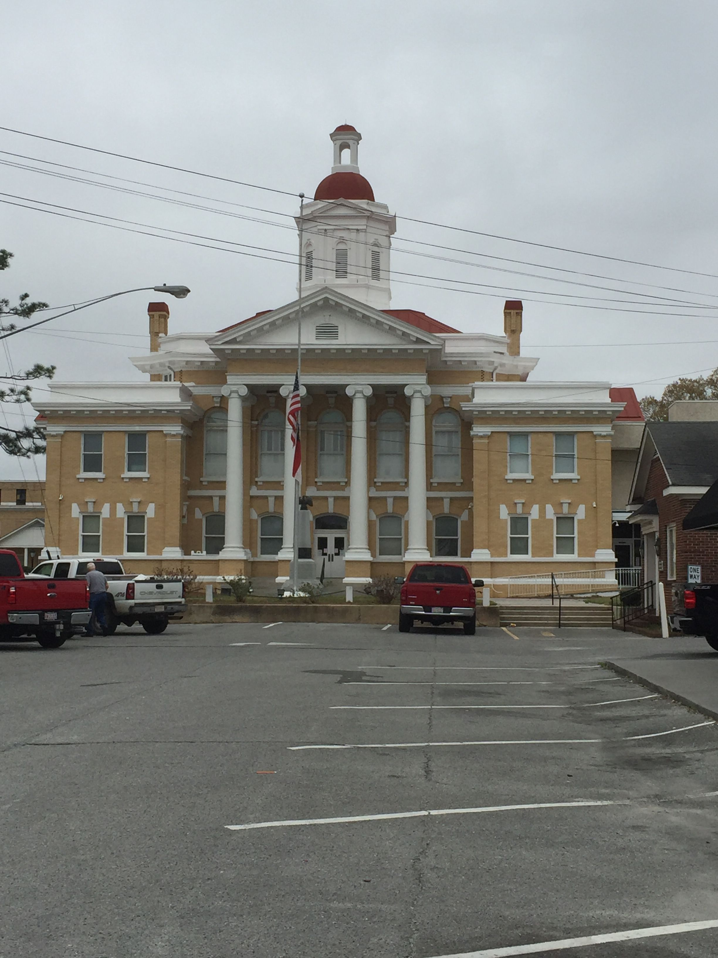 Duplin County Courthouse in Kenansville, North Carolina. Paul Chandler March 2016.