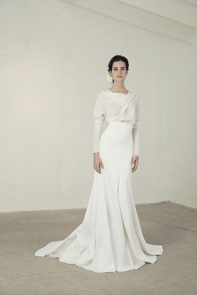 cortana vestido novia original romántico bohemio boda blog | wedding