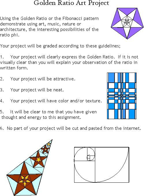 Golden Ratio Worksheet Pdf - Studimages.com