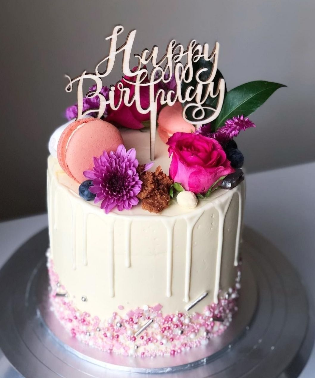 The Dessert Jar S Instagram Post She Leaves Behind A Little Sparkle Wherever Sh Happy Birthday Cupcakes Happy Birthday Cake Pictures Happy Birthday Cakes